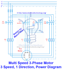 2 speed 3 phase motor wiring diagram kwikpik me