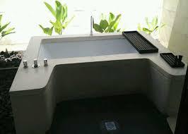 Bathtub Indonesia Bali Terrazzo Maintenance Material Bathtub Resin Terrazzo Bali