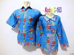 gambar model baju batik modern model baju batik terbaru wanita pria