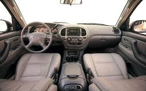 2001 toyota sequoia 2001 toyota sequoia road test review truck trend
