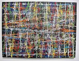 modern paint snap 2 abstract modern painting by artist bruce gray without brushes