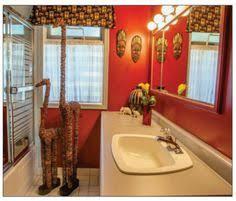 Safari Bathroom Ideas African Themed Bathroom Accessories Creating An African Themed