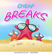 cheap breaks starfish means low stock illustration 550240369