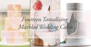 14 dreamy marbled wedding cakes philippines wedding blog