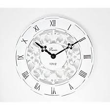 Shabby Chic Wall Clocks by Shabby Chic Vintage French Style Wall Clock In Antique Cream