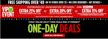 jcpenny black friday jcpenney vip sale better than black friday prices ends tonight
