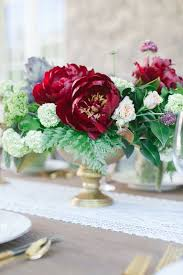 Burgundy Wedding Centerpieces by Ivory Burgundy And Gold Wedding Styling At Castle Cliff Estates