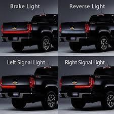 led backup light bar 48 red white led light bar for pickup backup brake turn signal