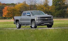 nissan truck 2018 2018 chevrolet silverado 1500 in depth model review car and driver
