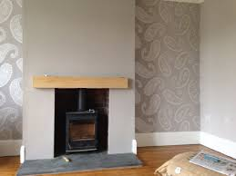 Jacquard Wallpaper Living Room Very Pleased With How Our Lounge Has Turned Out Wallpaper And