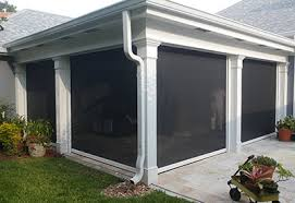 Motorized Screens For Patios Gulf Coast Retractable Screens Florida Motorized Screens