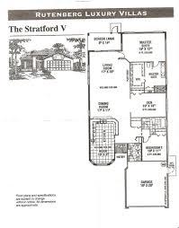 heritage pines stratford v floor plan