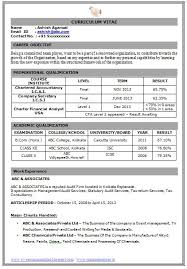 curriculum vitae pdf examples the 25 best resume format for freshers ideas on pinterest
