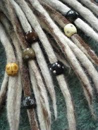 dreadlock accessories green and white dread lock sleeve dread accessories dreadlock