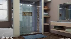 dreamline enigma air frameless shower door sliding opening youtube