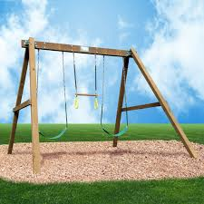 creative playthings classic swing set hayneedle
