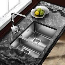 modern stainless steel kitchen sinks kitchen appliances one and half bowl stainless steel undermount