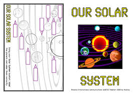 the solar system by katiejade teaching resources tes