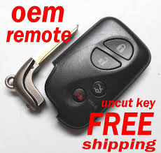 lexus es350 key fob battery oem 2008 2012 lexus es gs is keyless remote fob prox smart 89904