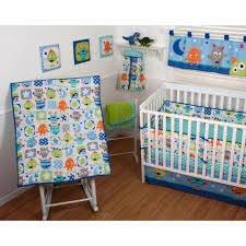Walmart Crib Bedding Sets Disney Monsters On The Go 4 Crib Bedding Set Walmart