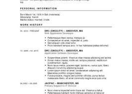 Updated Resume Examples Resume How To Build The Best Resume Amazing Automatic Resume