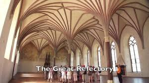 malbork castle interior poland youtube