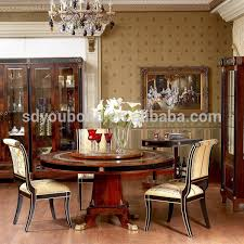 0010 spain high end design dining room furniture set antique