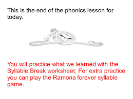 lesson 9 3rd grade language arts syllabication main idea ppt