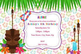 hawaiian birthday invitations hawaiian birthday invitations to