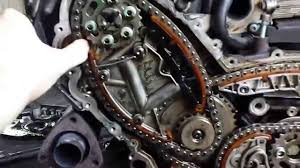 audi q7 3 0 tdi engine the timing chain rozrząd łańcuch a6 c6 3 0 tdi