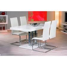 chaise blanche de cuisine assez chaise et table de cuisine design eliptyk