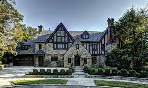 16 artistic tudor style mansions architecture plans 82135