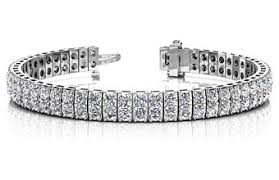 bracelet tennis diamond images 14kt white gold double row diamond tennis bracelet jpg