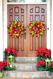 accessories wonderful creative front door christmas decorations