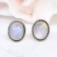 earrings s moonstone earrings by moon magic worldwide delivery