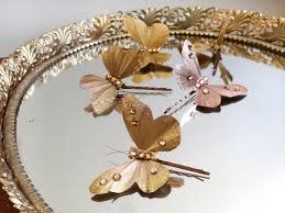 butterfly for hair mariposa gold jeweled butterfly hair pin n5