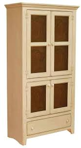 real wood kitchen pantry cabinet solid wood kitchen pantries cupboards plain and simple