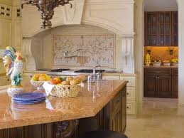Backsplashes For Kitchens With Granite Countertops by Kitchen Travertine Backsplashes Pictures Ideas Tips From Hgtv