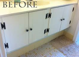 bathroom vanity makeover ideas impressive mammagranate bathroom vanity redo on redoing cabinets