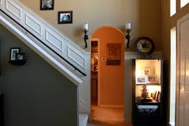 adding moulding to your staircase decor guest post
