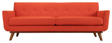 Mid Century Sofa Engage Upholstered Sofa Midcentury Sofas By Vb Home Furniture