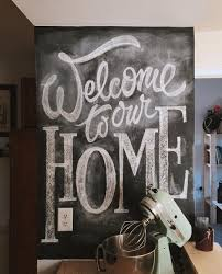 Chalkboard In Kitchen Ideas Welcome To Our First House Together After 6 Months Of Searching