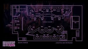 nightclub floor plan argyle la new years event nye party nightlife guide 2018 new years