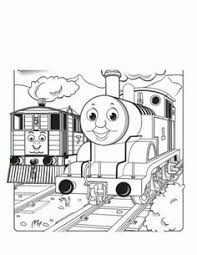 christmas thomas train coloring pages free coloring pages