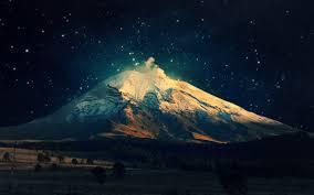 free night mountain wallpaper high resolution long wallpapers