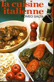 livre cuisine italienne la cuisine italienne par romeo salta editions solar 9782263000232