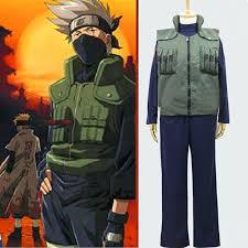 Xxl Halloween Costumes Aliexpress Buy Cool Cosplay Kakashi Costume Naruto Hokage