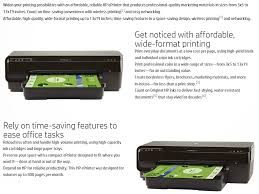 hp officejet 7110 wide format eprinter printer colour