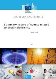 summary report of events related to design deficiency european