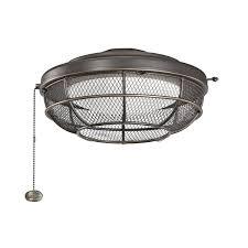 Kichler Ceiling Fan Light Kit Lighting Kichler 370044oz 3 Light Fan Light Kits In Olde Bronze